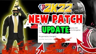 NBA 2K22 NEW PAṪCH - HOW TO LOAD YOUR PLAYER IF YOU'RE GETTING ERROR CODES - HOW TO FIX ERROR CODES