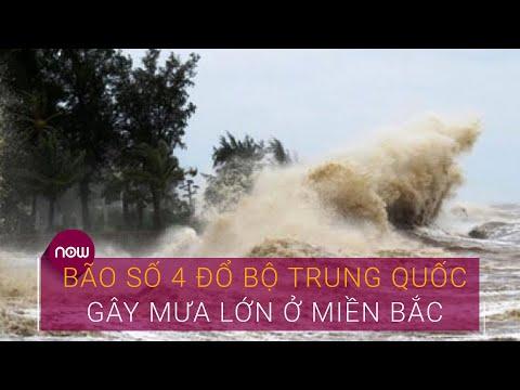 Tin bão mới nhất: Bão số 4 (Higos) đổ bộ Trung Quốc, gây mưa lớn ở miền Bắc | VTC Now