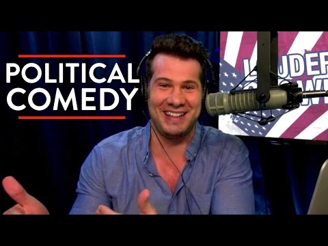 On Political Comedy & Libertarianism | Steven Crowder | COMEDY