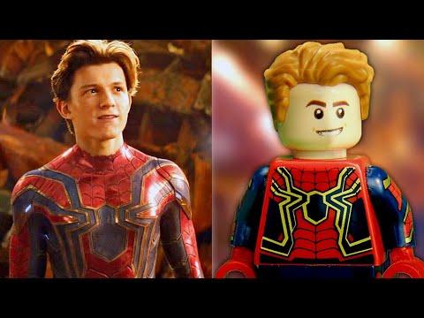 Lego Superhero Avengers Spider-Man Vs Iron Man Lego Stop Motion