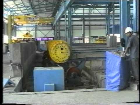 Dây chuyền sản xuất cọc bê tông li tâm dự ứng lực