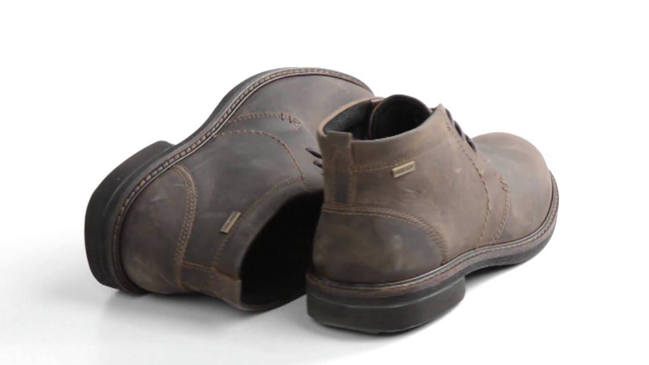 ecco mens boots gore tex