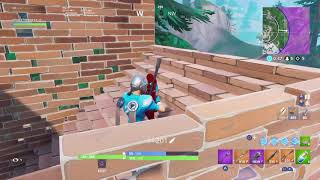 Fortnite battle royal 7 kills game with BLITZ SKIN + Spike it
