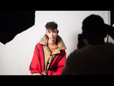 Behind the Scenes on Glass Magazine Cover Shoot With Dilone