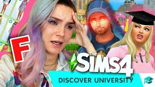 *BRUTALLY HONEST* SIMS 4 UNIVERSITY REVIEW