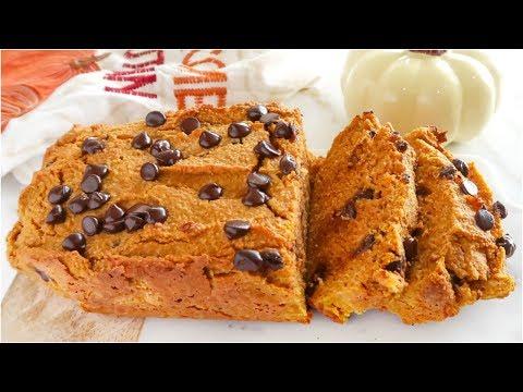 Healthy Pumpkin Bread | paleo recipes
