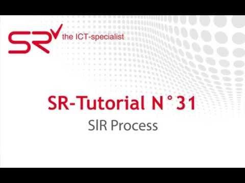 S|R Process - SR-Tutorial N°31
