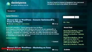 RSS Feed en Wordpress versión gratuita