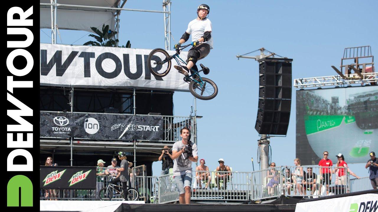 Harry Main Morgan Wade Ryan Nyquist More Dew Tour Ocean City 2013 BMX Park Practice