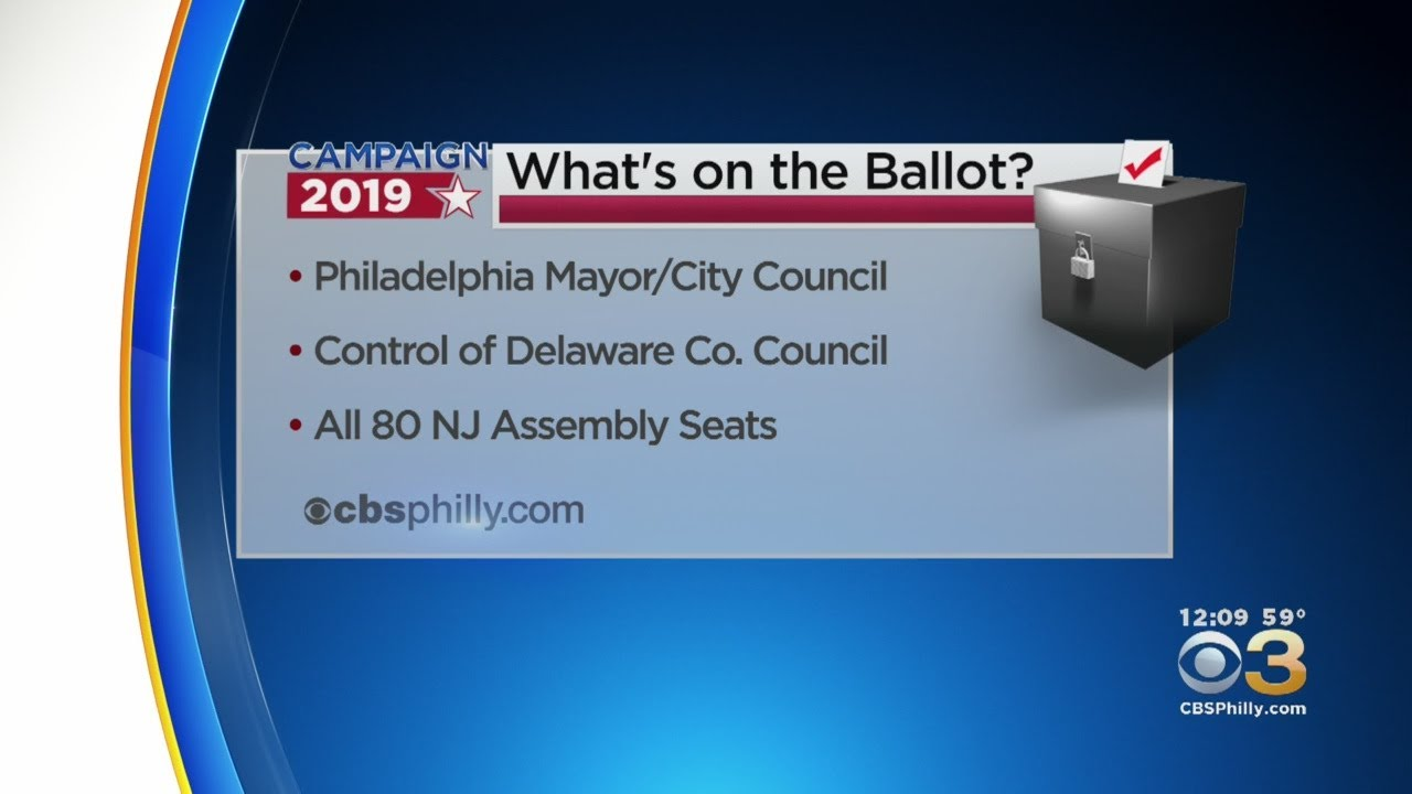 Voters In New Jersey, Pennsylvania Head To Polls Tuesday For Election Day