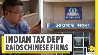 Chinese money laundering racket busted | Chinese firms raided by Indian tax department