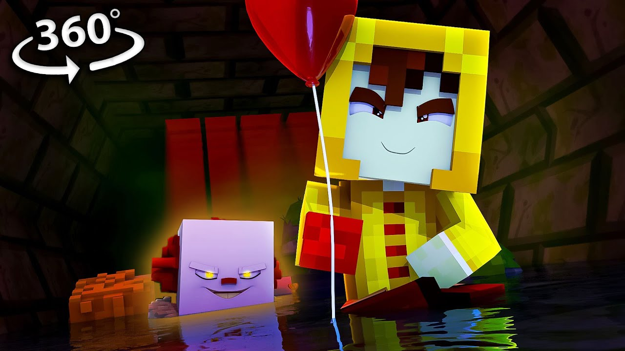 Will YOU Float Too? in Pennywise 360/VR! - Minecraft VR Video