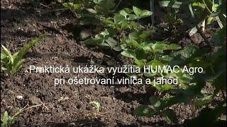 Starostlivosť o jahody s Ing. Eduardom Jakubekom - 2. časť praktických ukážok práce s HUMAC Agro