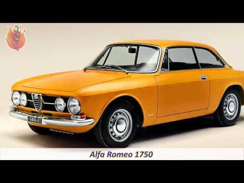Full List of Alfa Romeo Models Cars Ever Made. History of Alfa Romeo Automobiles.