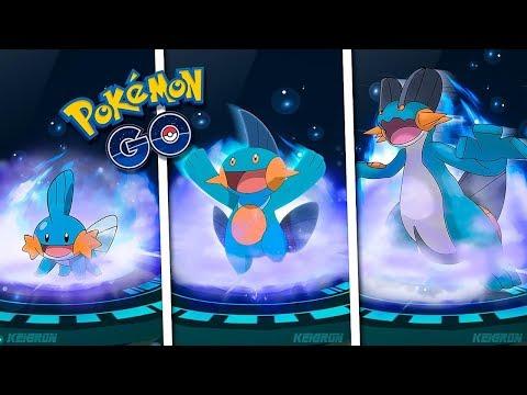 La MEJOR EVOLUCIÓN de MUDKIP MARSHTOMP SWAMPERT en Pokémon GO [Keibron]
