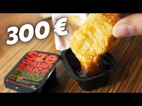LA SAUCE MCDO à 300€ ! (Recette sauce Szechuan de Rick et Morty)