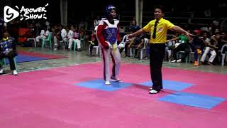 Angelika Abairo's  Kyorugi Fight (Alicia Regional Interschool Taekwondo)