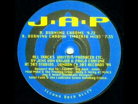 J.A.P. - Burning Chrome (1994)