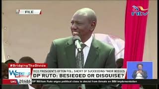 How DP Ruto appeared troubled man at BBI report launch at Bomas