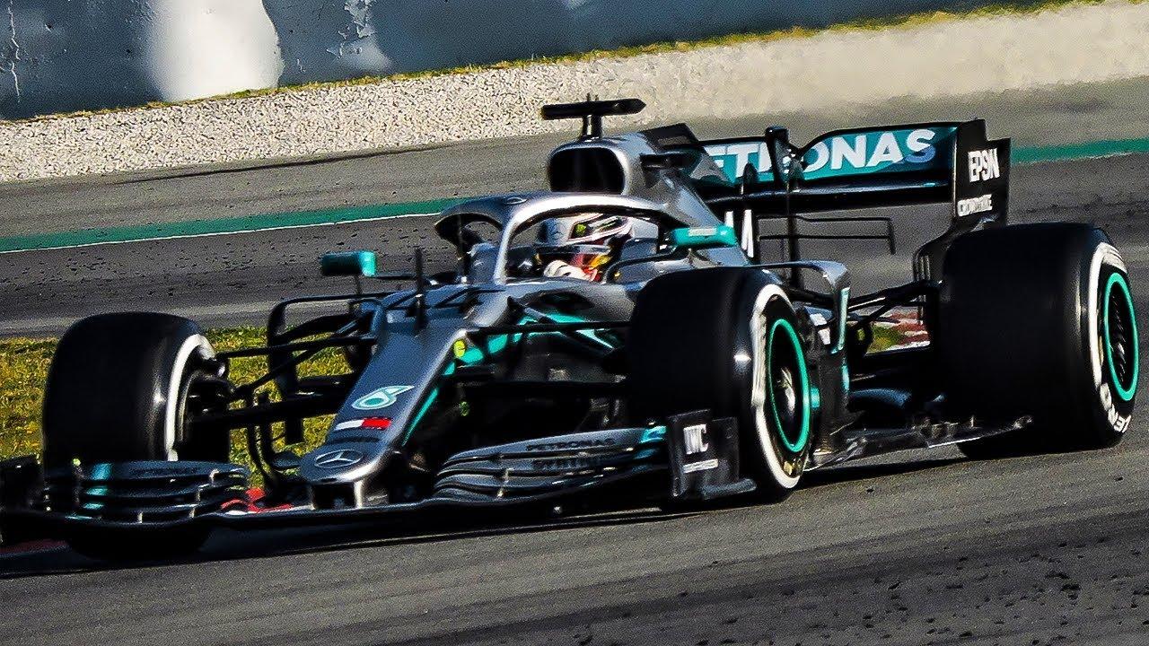 Mercedes Amg F1 W10 On Track F1 2019 Pre Season Testing