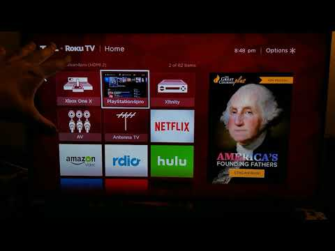 How to hook up a dvd player to a tcl roku tv