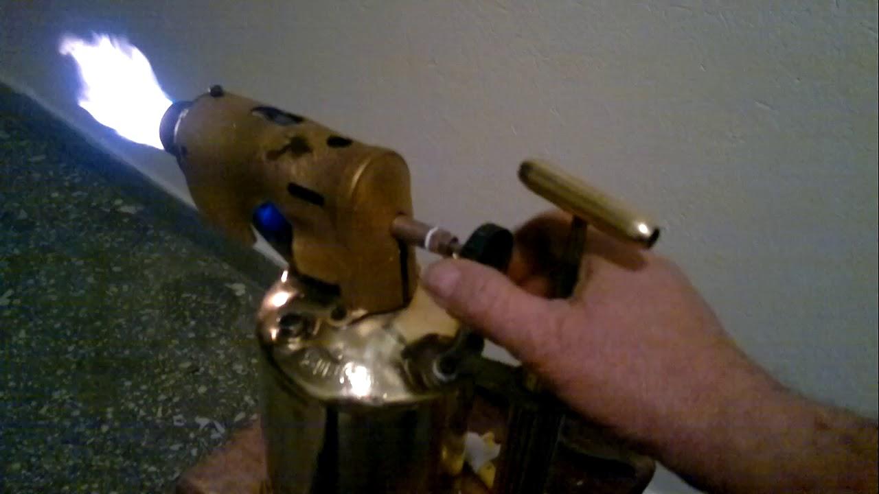Antique Original Max Sievert Type 577 Large Blow Torch - Yaşar DİDİN