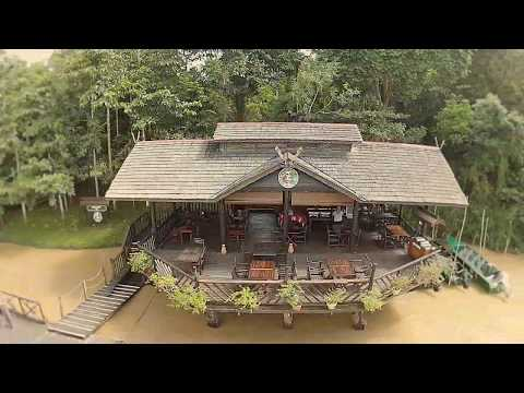 Sukau Rainforest Lodge New Villa 2017 | National Geographic Unique Lodges of the World