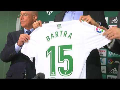 Declaraciones de Marc Bartra en su presentación como jugador del Betis