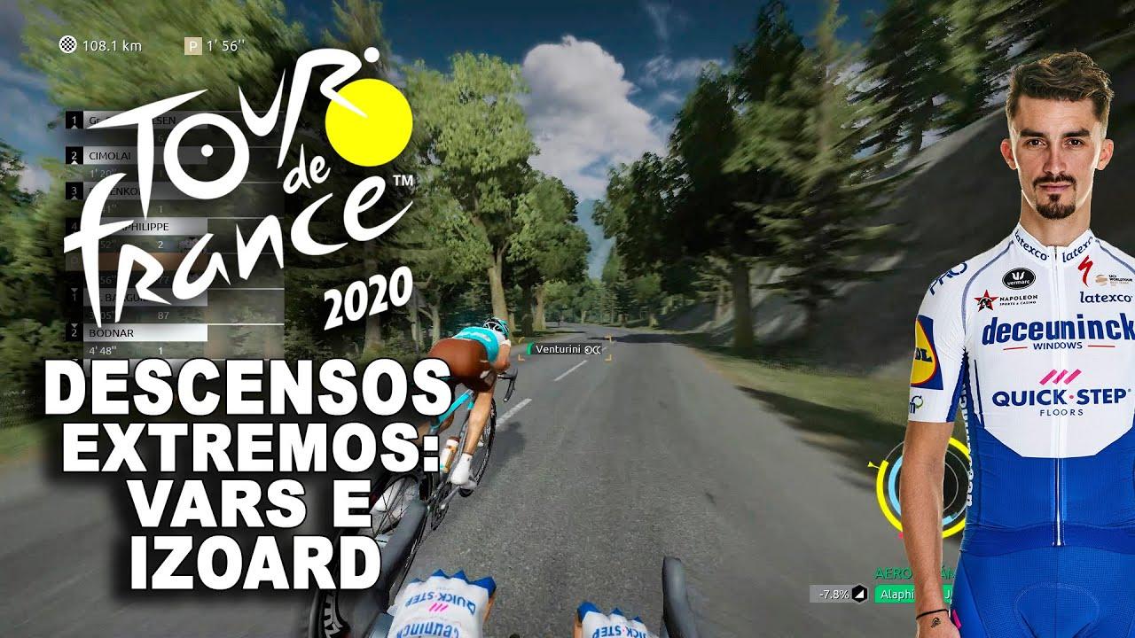 TOUR DE FRANCE 2020 Descensos extremos, Vars e Izoard VR_JUEGOS