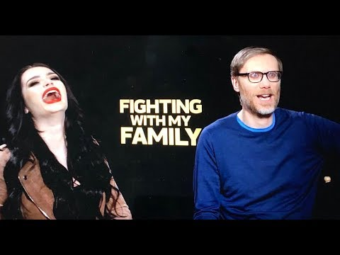 Paige From WWE And Stephen Merchant Talk About Fighting With My Family