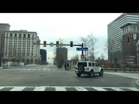 Downtown Cleveland-Ohio-USA