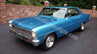1966 Chevrolet Nova for sale Old Town Automobile in Maryland