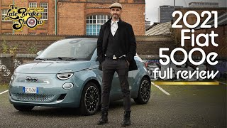 New 2021 Fiat 500 e EV drive review // The Late Brake Show