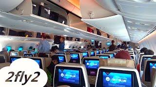 ETIHAD AIRWAYS BOEING 787-9 DREAMLINER ZURICH - ABU DHABI ECONOMY CLASS HD