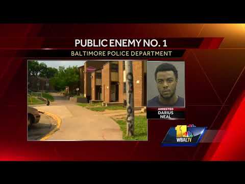 Video: Police arrest latest Public Enemy No. 1 on murder charges