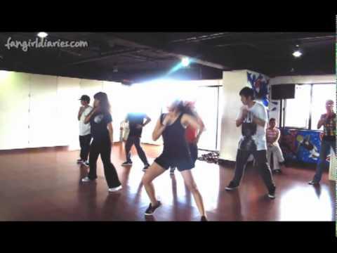 Taeyang wedding dress: kpop dance class in manila // fangirl.