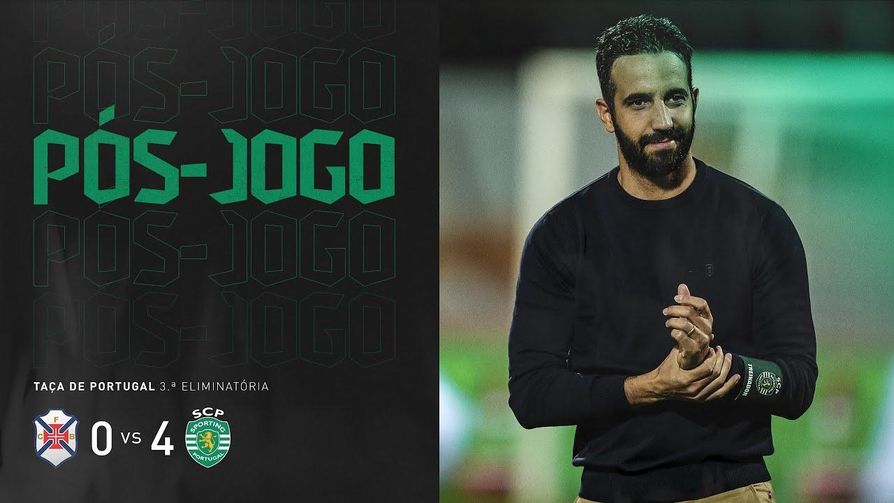 """Pós-jogo - Taça de Portugal   CF """"Os Belenenses"""" x Sporting CP"""