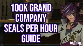 FFXIV 2.45 0468 100k+ Grand Company Seals in 1 Hour Guide