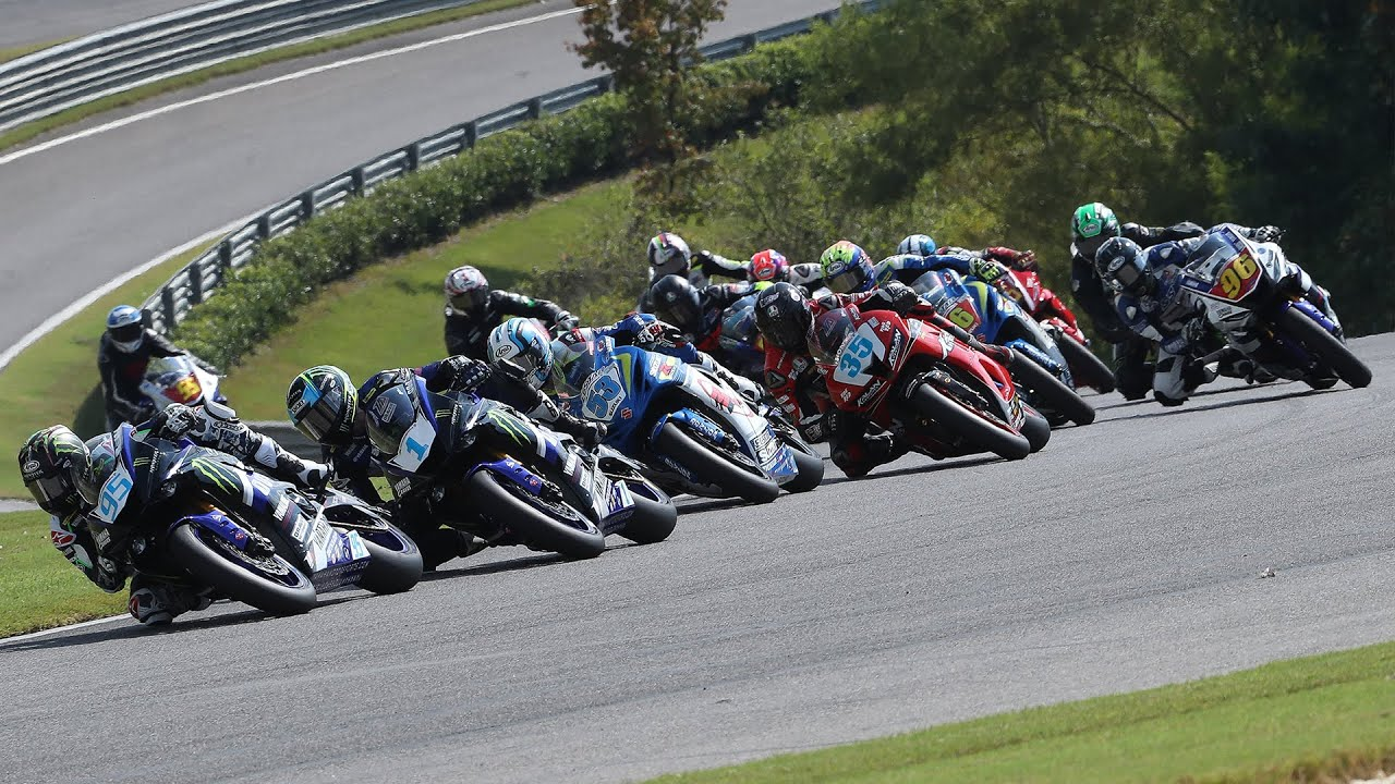 MotoAmerica Supersport Race 1 at Barber Motorsports Park 2017