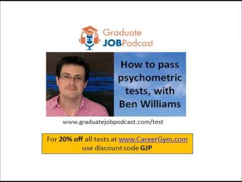 How to pass psychometric tests - (verbal, numerical, abstract reasoning)