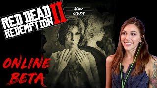 Online Beta | Red Dead Redemption 2 | Marz Plays
