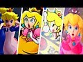 Evolution of Princess Peach Getting Kidnapped in Super Mario Games (1988 - 2017)