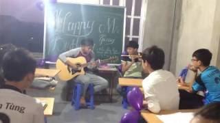 Chắc ai đó sẽ về (guitar+flute) cover học sinh tặng thầy Đỗ Thành Giang 2015