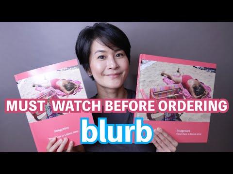 [English] Must Watch Before Ordering Blurb _ Photo Book Vs Magazine