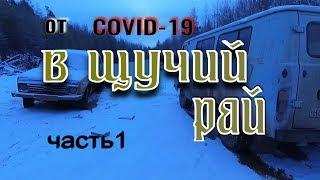 На РЫБАЛКУ от COVID 19 В ЩУЧИЙ РАЙ часть 1