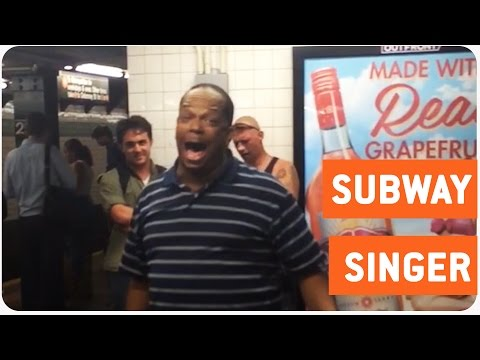 Amazing New York Subway Singer | A Change Gonna Come