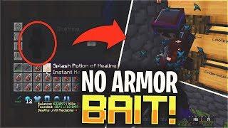 I BAITED HIM WITH NO ARMOR ON... (RAIDABLE) | Minecraft HCF