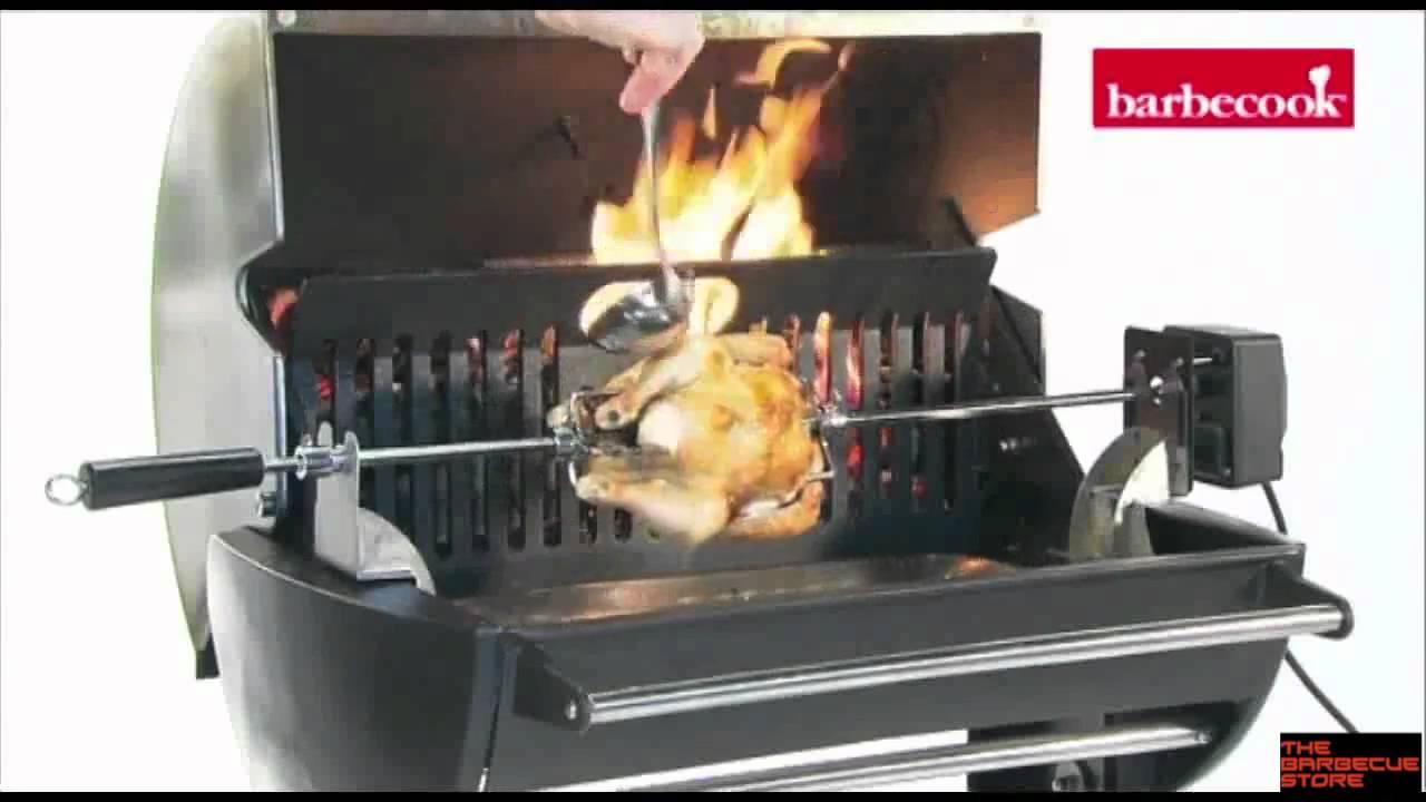 Barbacoa a le a barbecook banika youtube for Barbacoas de obra para jardin