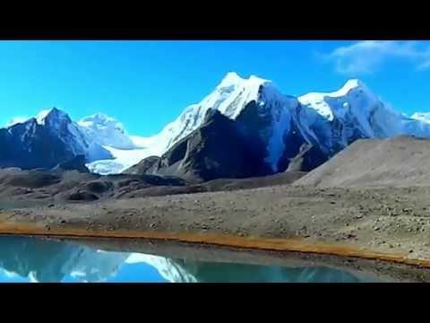 Gurudongmar Lake in Sikkim, India HD(full video) গুরুদংমার লেক