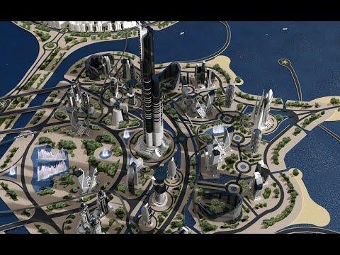 Azerbaijan Tower video